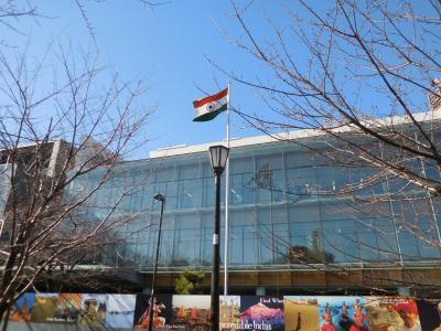 インド大使館へビザ申請に行く