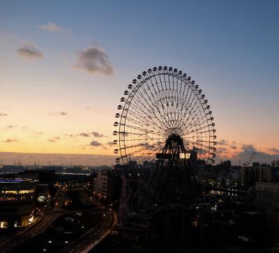 2017年12月の横浜旅行① 横浜ベイホテル東急泊