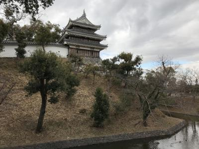 愛知県の城跡巡り:西尾城跡、二ノ丸に天守