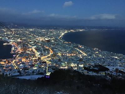 おひとり様 冬の函館(2) 函館の夕景/夜景