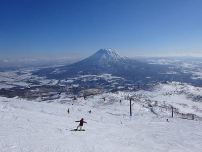 北海道スキー三昧(ニセコ) 2019.1.12