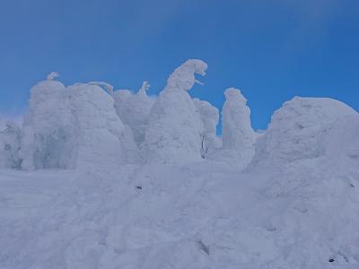 2019.1.12~15 冬の山形3泊4日後半編 ~蔵王樹氷と大内宿(福島)~
