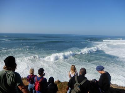 3日目 ナザレに世界最大の波を求めて