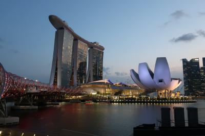 シンガポールでホテルステイ 2019<10>キレイな夜景に癒されて・・・編