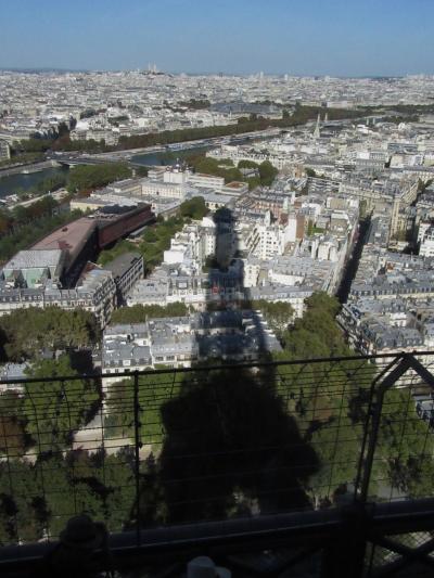 パリの街歩き2018(第2回)1日目午後 エッフェル塔 Town walk in Paris/Tour Eiffel