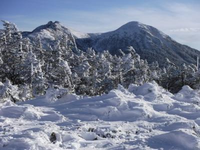 雪の天狗岳