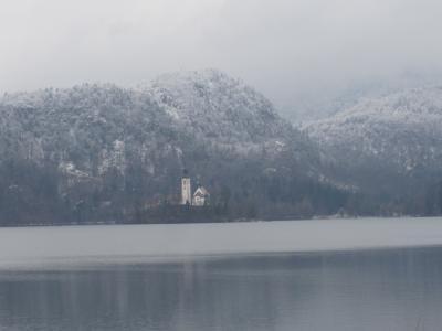 スロベニア、ブレッド湖観光