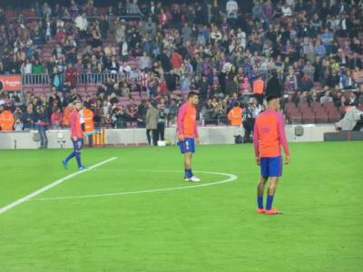 バルセロナ(Barcelona) 2016年1回目(1日目サッカー観戦・バルサ中心)