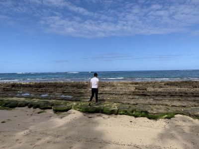 息子と2人でハワイ