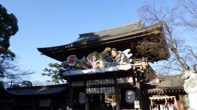 寒川神社初詣・・・!!