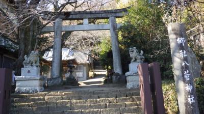 八菅神社へお散歩・・・