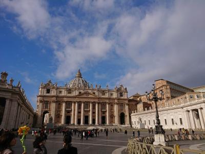 石畳の街を歩くイタリア  初日~2日 (ローマ)