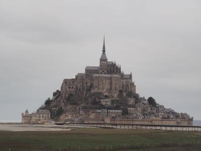 モンサンミッシェル(フランスツアー3日目)