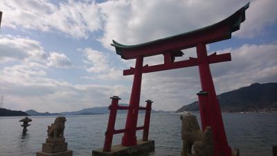 広島☆向島おいしいパンケーキと岩子島の厳島神社