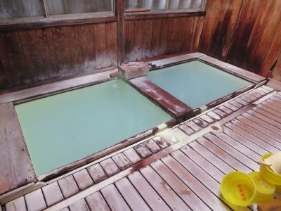 上質湯のボロいい宿と温泉巡り / 那須湯本温泉 / 栃木