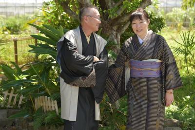アラフィフ夫婦の奄美大島旅行。3日目、高千穂神社と大島紬