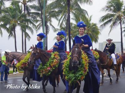 ハワイで過ごす結婚記念日⑬ キング・カメハメハ・セレブレーションに盛り上がるハワイ