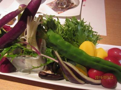 2016年7月/オーガニック野菜と源泉かけ流し「真奈亭箱根」