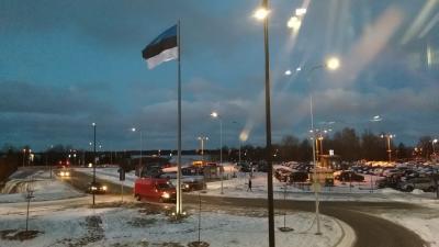 北欧周遊⑦~エアポート in Tallin