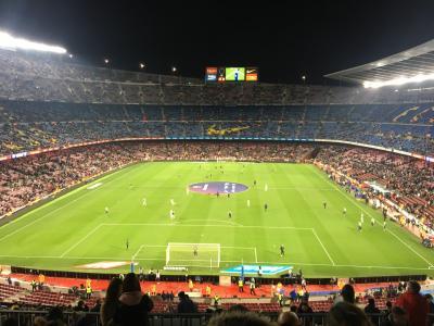 スペイン2日目【カンプノウで試合観戦】