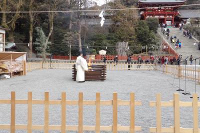 鎌倉鶴岡八幡宮厄除大祭-2019年冬