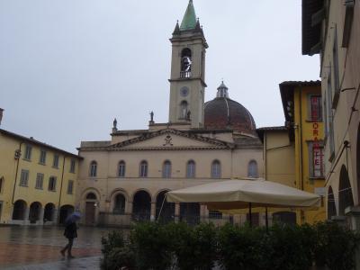 予定道理にいかない、イタリア旅行1、サン・ジョヴァンニ・ヴァルダルノ