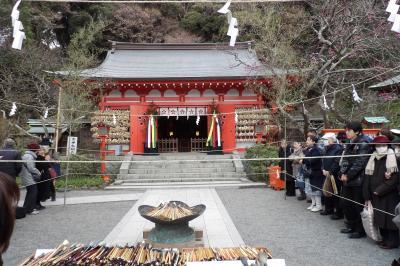 荏柄天神社-2019年冬