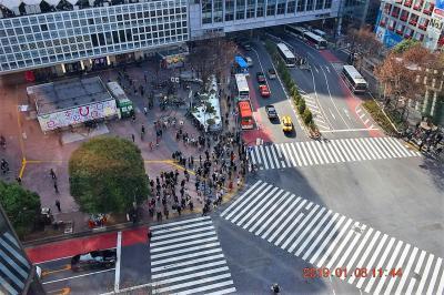【東京散策94】 普段は人が多くて近づけない渋谷駅周辺~代官山を平日歩いてみた
