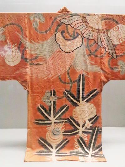 上野15 東京国立博物館 日本美術のながれ4/5 ☆夜着・硯箱・いろは屏風・唐織など