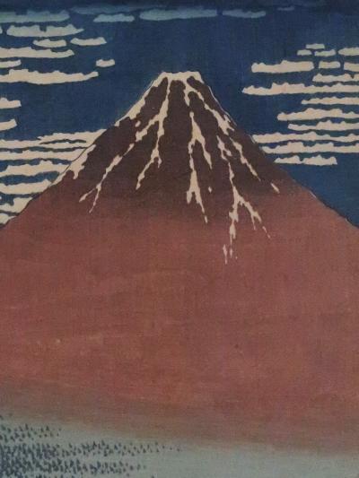 上野16 東京国立博物館 日本美術のながれ5/5 ☆〔凱風快晴〕浮世絵と江戸時代衣装など