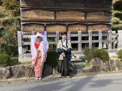 さわやかウォーキング「中山道 琵琶峠と大湫宿」に参加