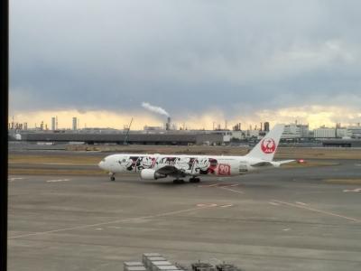 ただ今、JALで移動中(*^-^*) 第五十二弾>>>>東京ライフ最終フライトto大分!!サクララウンジから見えたJAL DREAM EXPRESS 90 !! *(^0^)*