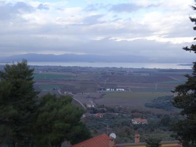 予定通りに行かない、イタリア旅行2、「イタリアで最も美しい村」めぐり 12,ウンブリア州パニカーレ