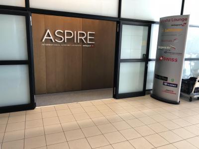 ソフィア空港、Aspire Loungeとソフィアブラブラ+ルフトハンザセネターラウンジ。