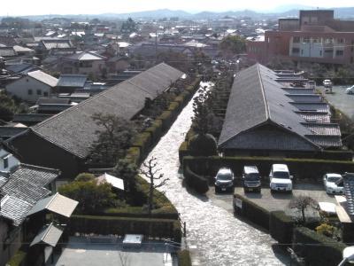 「松阪・榊原」 松阪で城下町を観光し、松阪牛を食べ、榊原温泉で入浴する日帰り旅