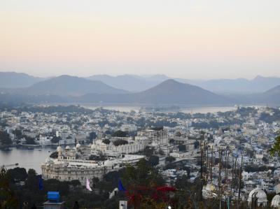 2019新春インド旅 その7~ウダイプール後半(ピチョラー湖、旧市街散策、ロープウェイでサンセット)