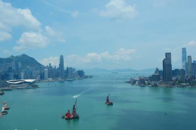 香港旅行記 1  (2018年5月 香港島・ハーバーグランド香港)