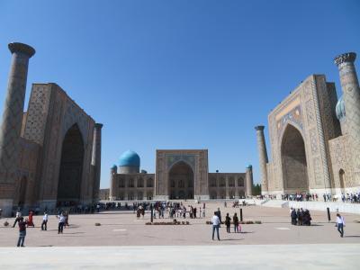 40代の一人旅~ウズベキスタン1日目