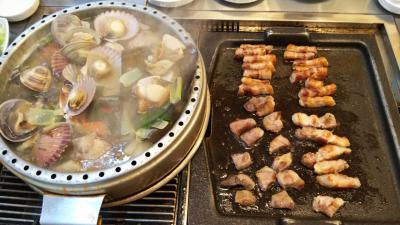 冬の釜山、同級生三人で食べ歩きの旅