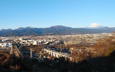 富士山と国府津山散歩
