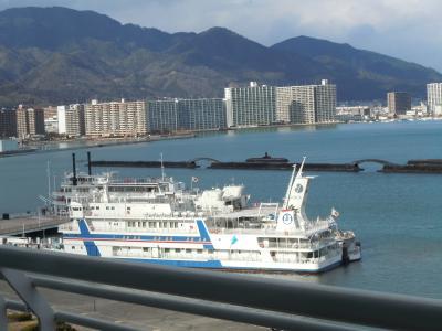 冬ののんびり旅大阪から琵琶湖へ (2) 琵琶湖ホテル
