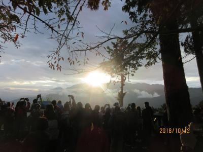 台南・阿里山・鹿港を旅して(その3・阿里山で日の出を見る)
