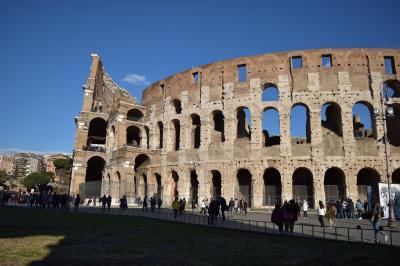 イタリア見聞録〜おいしいところつまみ食い〜②ローマ1日目