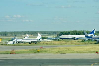 JLマイルでモスクワ,旧ソ連機を横目にBA乗継でロンドンへ
