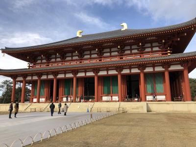 奈良マラソン応援と興福寺 中金堂