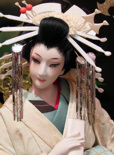 2018年暮れ~艶やかな日本人形展「矢口威子創作展」も今回が最後でした。
