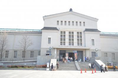 天王寺公園と市立美術館、一心寺さん