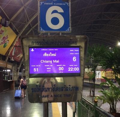 2019年タイ避寒旅行 4 鉄道旅 その1