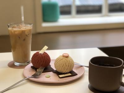 Wi-Fiを使ってたどり着いたおしゃれな韓国カフェ