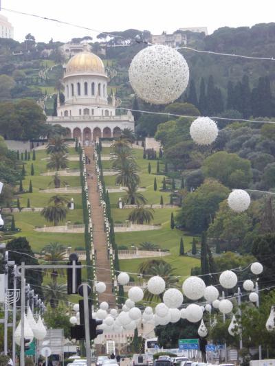 バハハーイ(古い)じゃなくてバハーイー庭園は秀麗~18、19年冬イスラエル訪問12月28日その3ハイファ